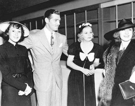 Luise Rainer, Clark Gable, Jean Harlow & Norma Shearer