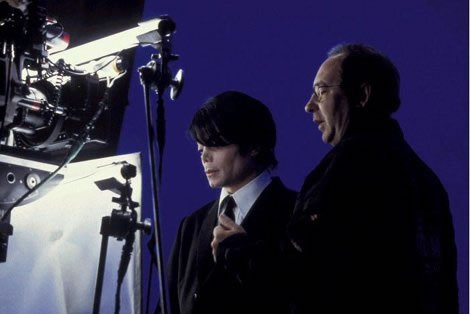 MJ and Barry Sonnenfeld