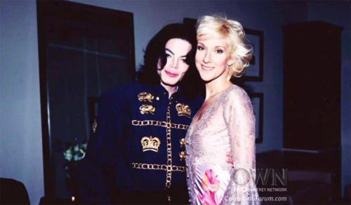 MJ and Celine Dion