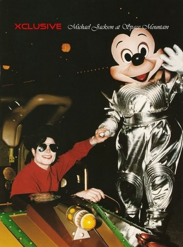 MJ on Space Mountain