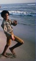 MJ on the beach - michael-jackson-the-child photo