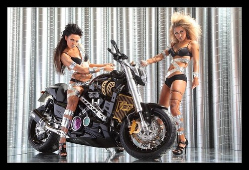 MOTORCYCLE & GIRLS