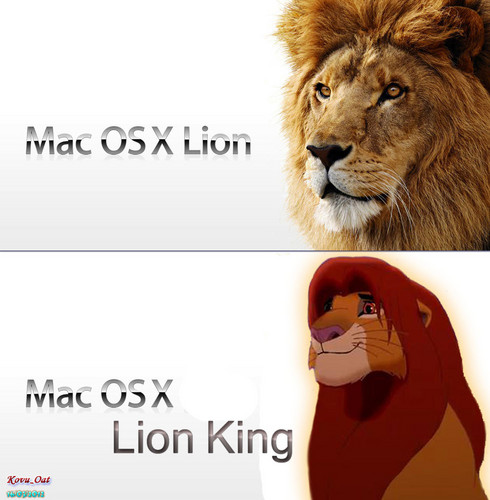 Mac OSX Lion King Simba Version