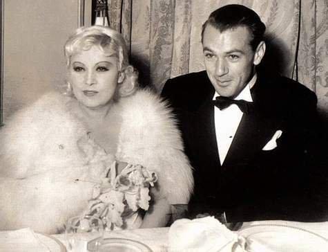 Mae West & Gary Cooper