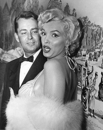 Marilyn Monroe & Alan Ladd