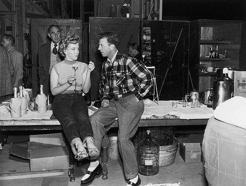 Marilyn Monroe & Dan Dailey