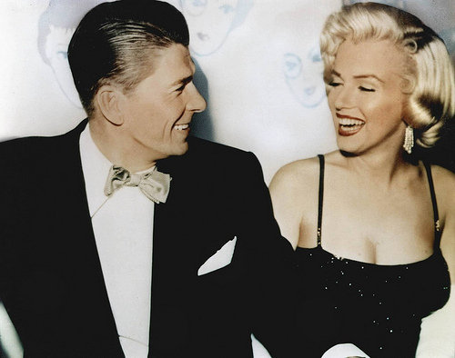 Marilyn Monroe & Ronald Reagan