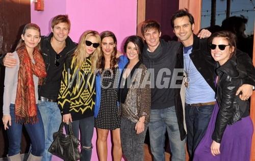 Matt,Shenae and cast