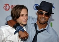 Matthew Gray Gubler and Shemar Moore