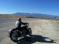 Me on my Dad's Harley - harley-davidson photo