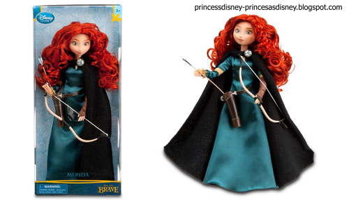 Merida New Dolls