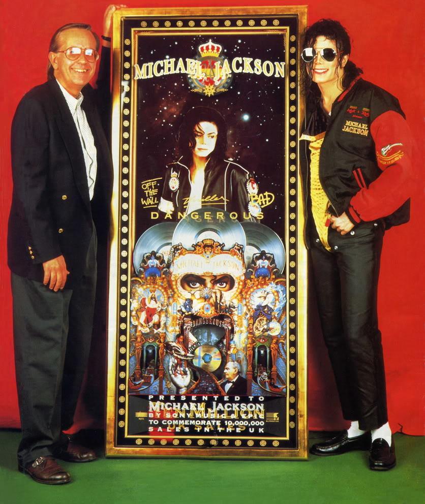 Michael Jackson 10 million sales in the UK
