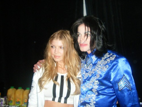 Michael Jackson & Fergie ♥