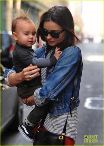 Miranda Kerr: Saturday Stroll with Flynn!