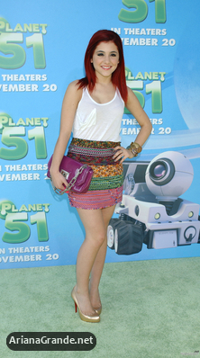"NOVEMBER 14 - Premiere of ""Planet 51"""