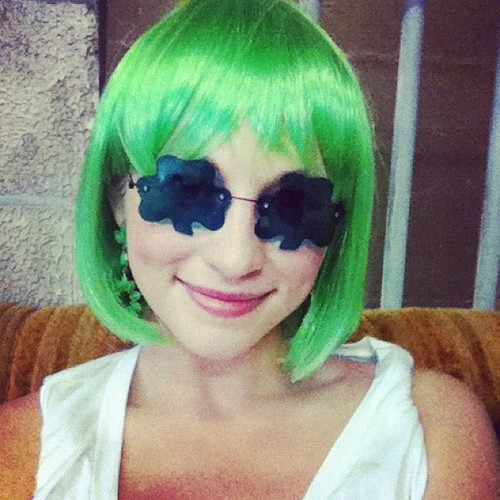 New Twitter pic - Happy St Patrick's Day!