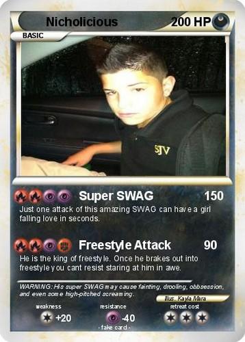 Nick the Pokemon
