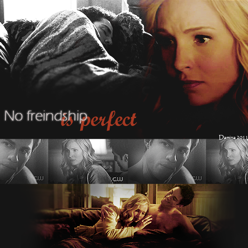 Tyler and Caroline wallpaper called No friendship is perfect