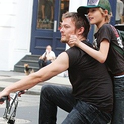 Norman Reedus and Mingus