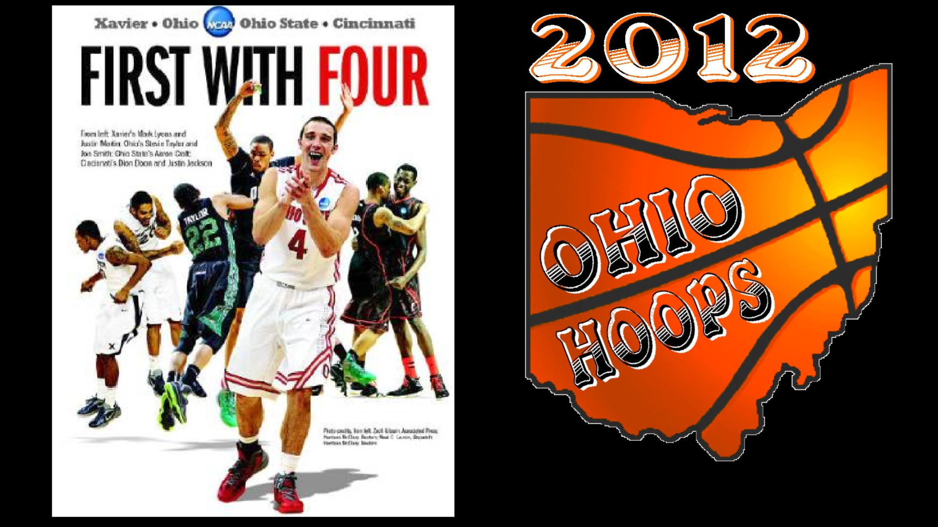 OHIO 1ST STATE WITH 4 TEAMS IN NCAA SWEET 16 2012
