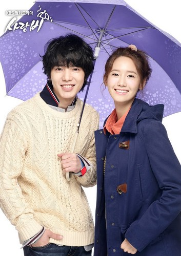 S♥NEISM wallpaper containing a parasol titled Official Pictures of drama 'Love Rain'