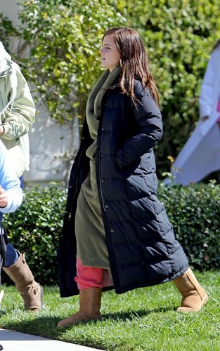 On the Set of The Bling Ring - March 19, 2012