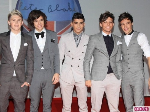 One Direction @ 2012 Brit Awards
