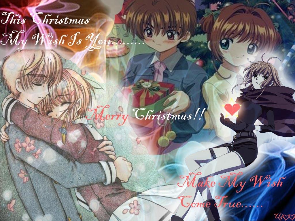 Syaoran tình yêu Sakura \u003cForever\u003e* hình nền containing anime called Our tình yêu