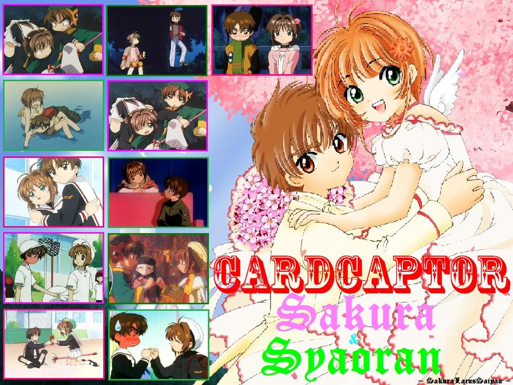 Syaoran tình yêu Sakura \u003cForever\u003e* hình nền possibly with anime titled Our tình