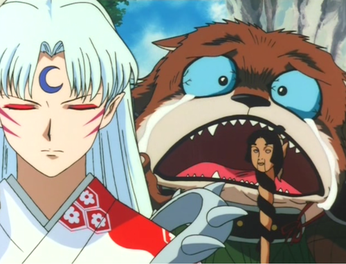 Overdramatic Royakan & Sesshomaru - inuyasha Screencap