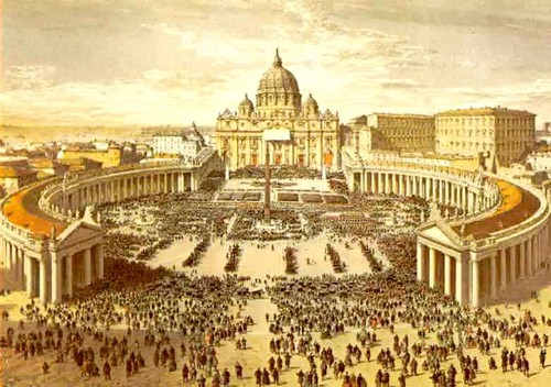 Painting of St. Peter's Basilica