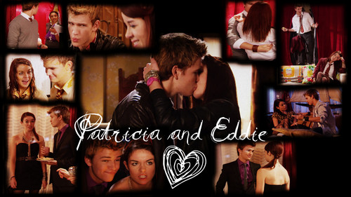 The House of Anubis wallpaper called Patricia and Eddie, Peddie