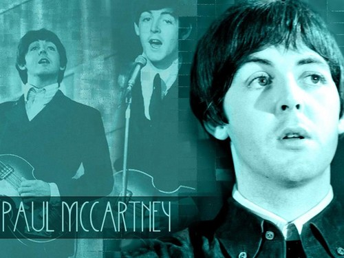 Paul McCartney wallpaper with a portrait entitled Paul