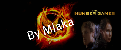 Peeta Katniss Fanmade Banner The Hunger Games Movie Fan Art 29882049 Fanpop