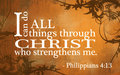 Phillipians 4:13 - god-the-creator photo