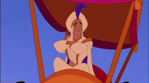Disney Prince karatasi la kupamba ukuta titled Prince Aladin