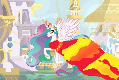 Princess Celestia's Gala dress