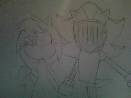 Princess Myia and Sir Lancelot(Shadow)