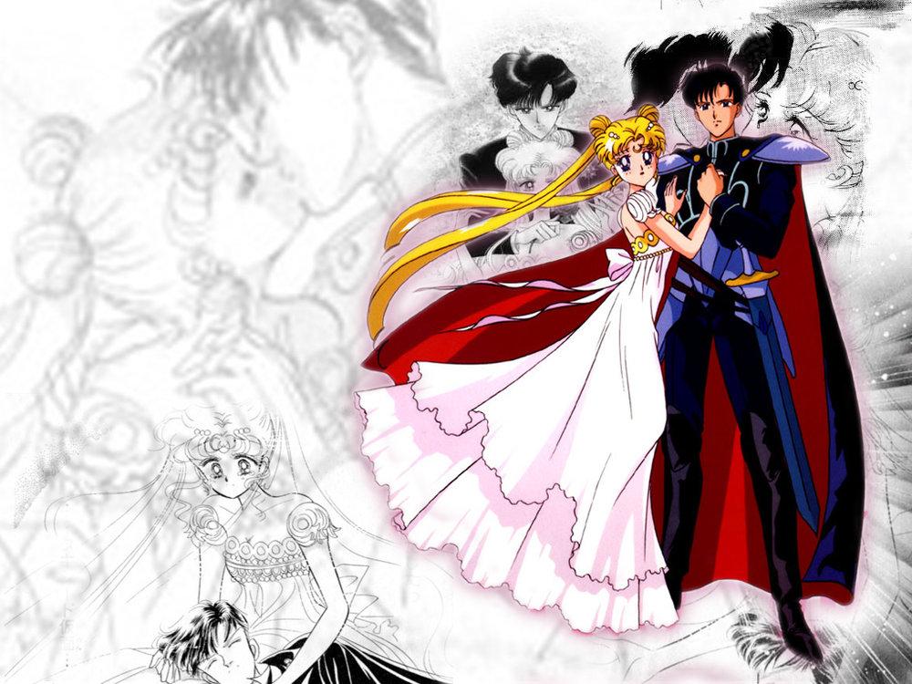 Princess Serenity and Prince Endymion - Serena and Darien Wallpaper ...