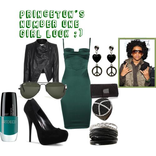 Princeton's # 1 Girl Look ;)