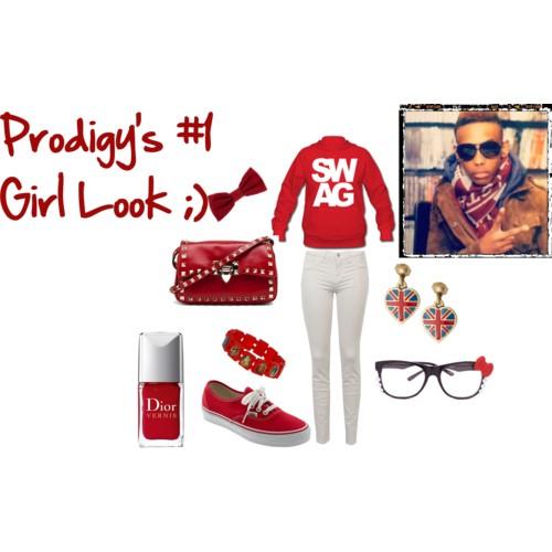 Prodigy's #1 Girl Look ;)