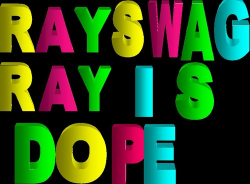 Ray Ray (Mindless Behavior) wallpaper possibly containing anime titled RAY RAY SWAGG IS DOPE♥