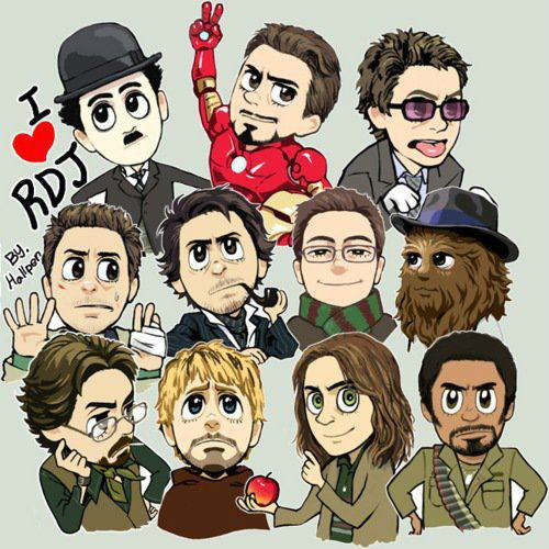 RDJ :3 - robert-downey-jr Fan Art