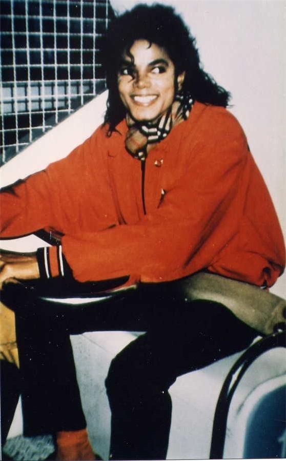 Rare 사진 of Michael Jackson
