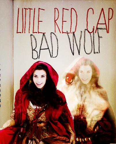Red Riding Hood/Ruby karatasi la kupamba ukuta possibly containing anime called Red