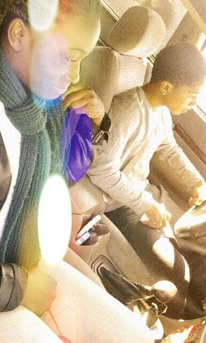 Roc Driving  Do yall like his hair cut ? - roc-royal-mindless-behavior Photo