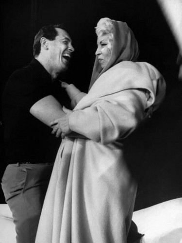 Rock Hudson & Mae West - classic-movies Photo