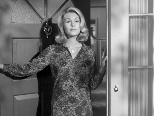 Bewitched wallpaper possibly containing a bridesmaid, a cocktail dress, and a business suit called Samantha - Gifs