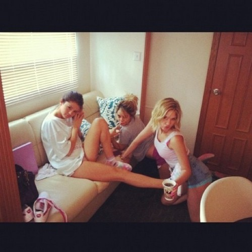 Selena Gomez, Vanessa Hudgens and Ashley Benson