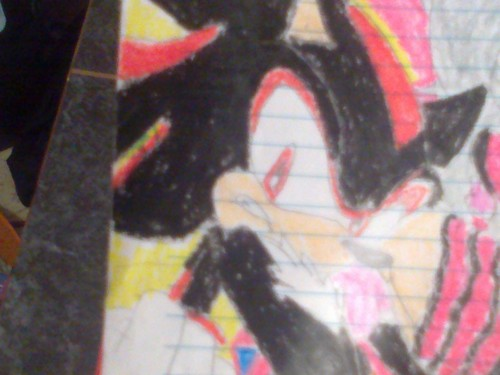 Shadow the hedgehog (in color)